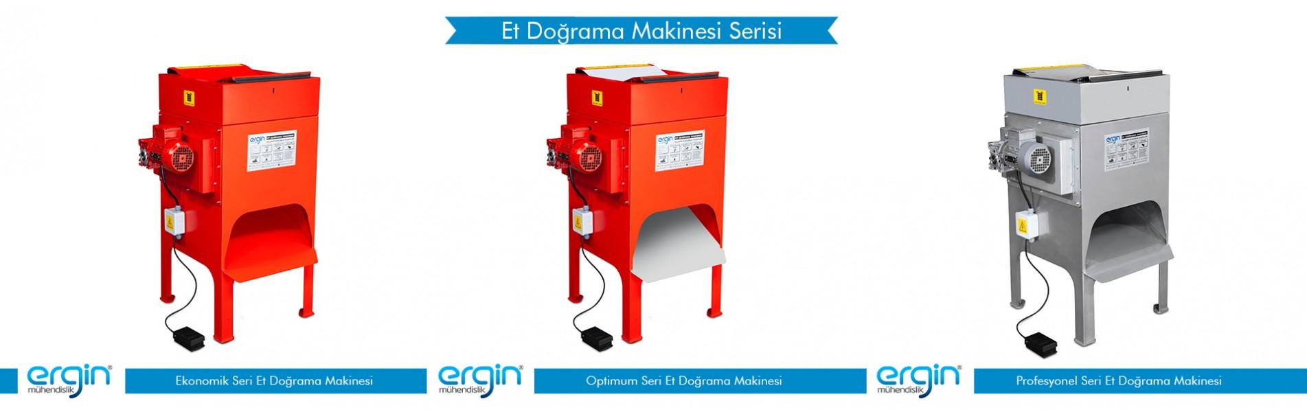 Et Doğrama Makinesi Serisi